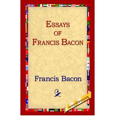 Francis bacon essays librivox